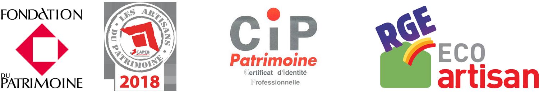 CPI - Fondation du patrimoine - RGE - Les artisans